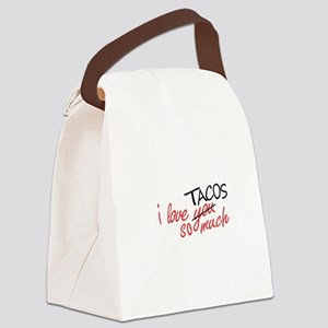 i love you so much [AUSTIN VER.] Canvas Lunch Bag